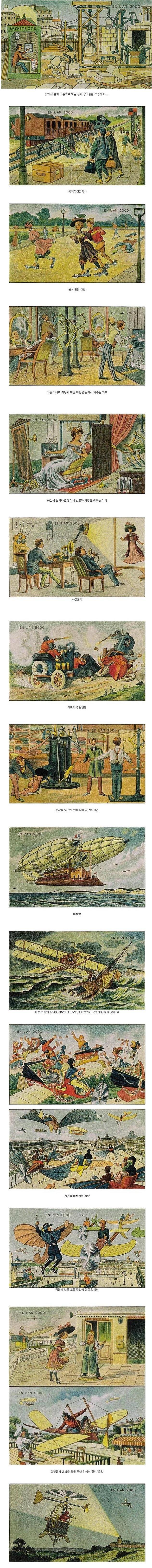 100년 전 유럽인들이 상상한 미