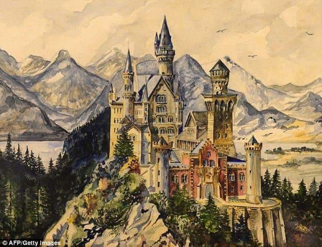 히틀러가 그린 그림들6.jpg