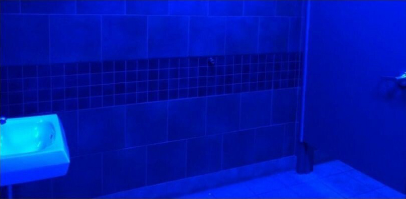 편의점 화장실 뽕쟁이들 약 못하게 혈관이 안보이는 파란 램프로 교체1.jpg