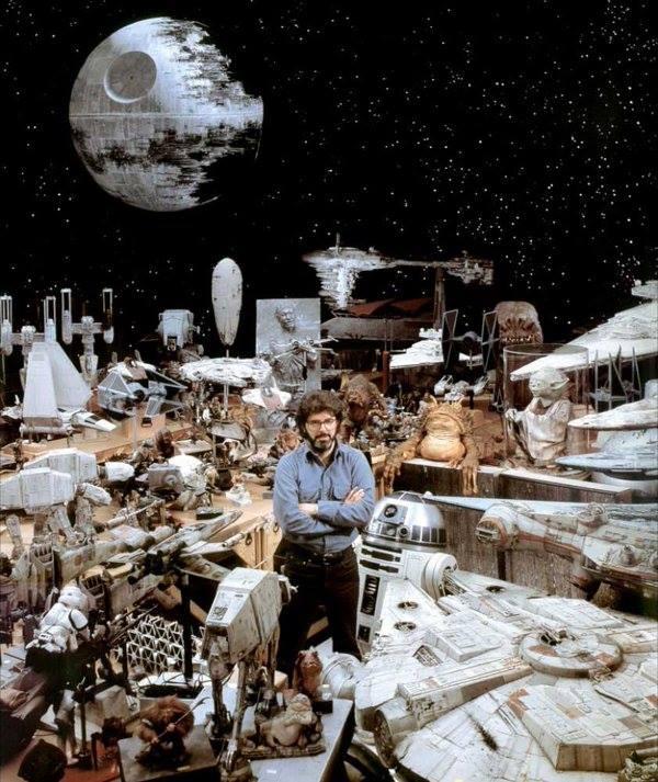 1983년 조지루카스와 그가 영화
