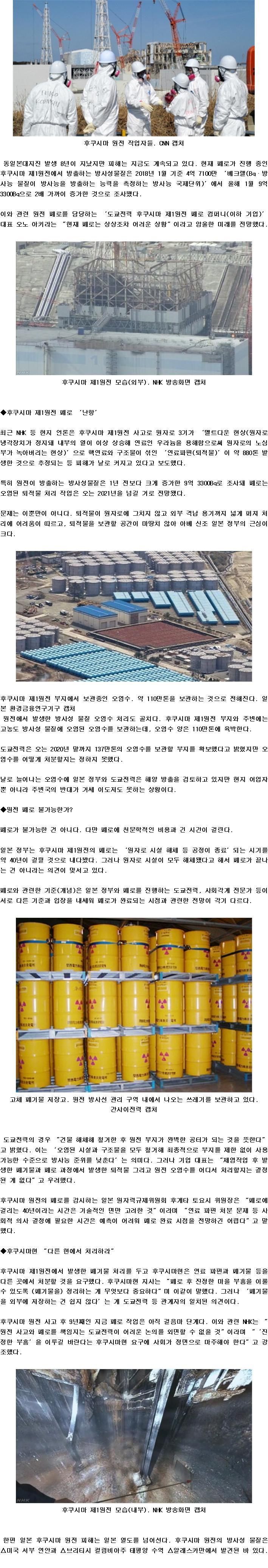 후쿠시마 원전, 방사성물질